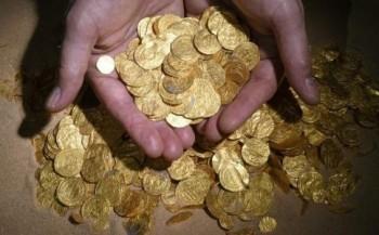 Duikers vinden goudschat