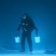In beeld: Vissen onder het ijs
