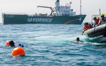 Met de Arctic Sunrise naar de Klaverbank: duikexpeditie met uitdagingen