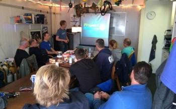 Axel Gunderson - Project Baseline op bezoek bij Duik Team Leeuwarden