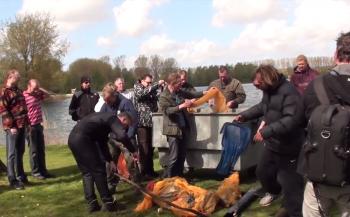 Ted Huikeshoven - Schoonmaakduik Haarlemmermeersebos