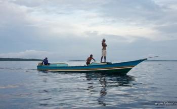 Jenny Smit - Duiken bij Biak, Papua