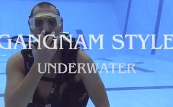 Korte film: Gangnam-style onder water