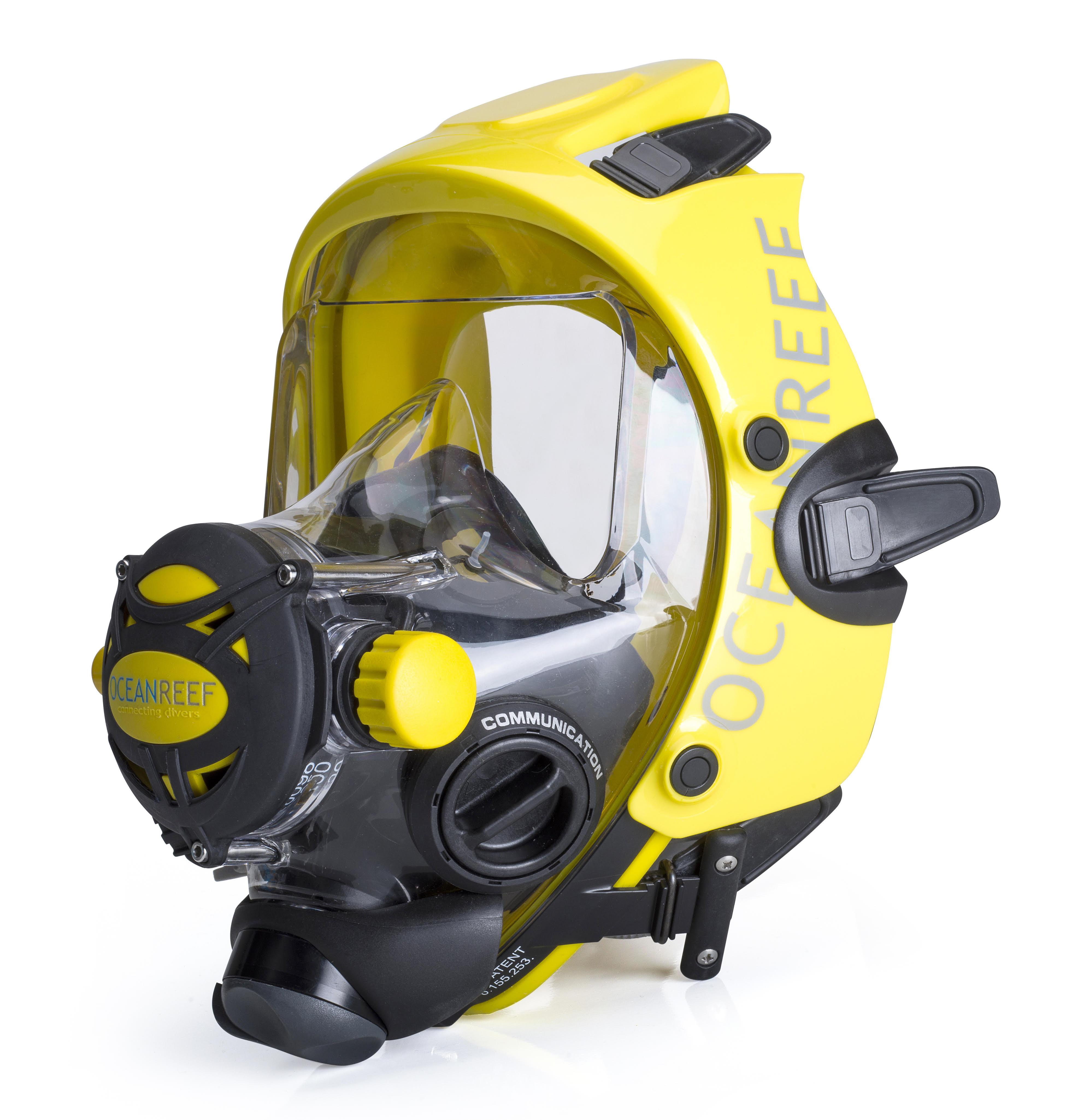 geel Ocean Reef masker