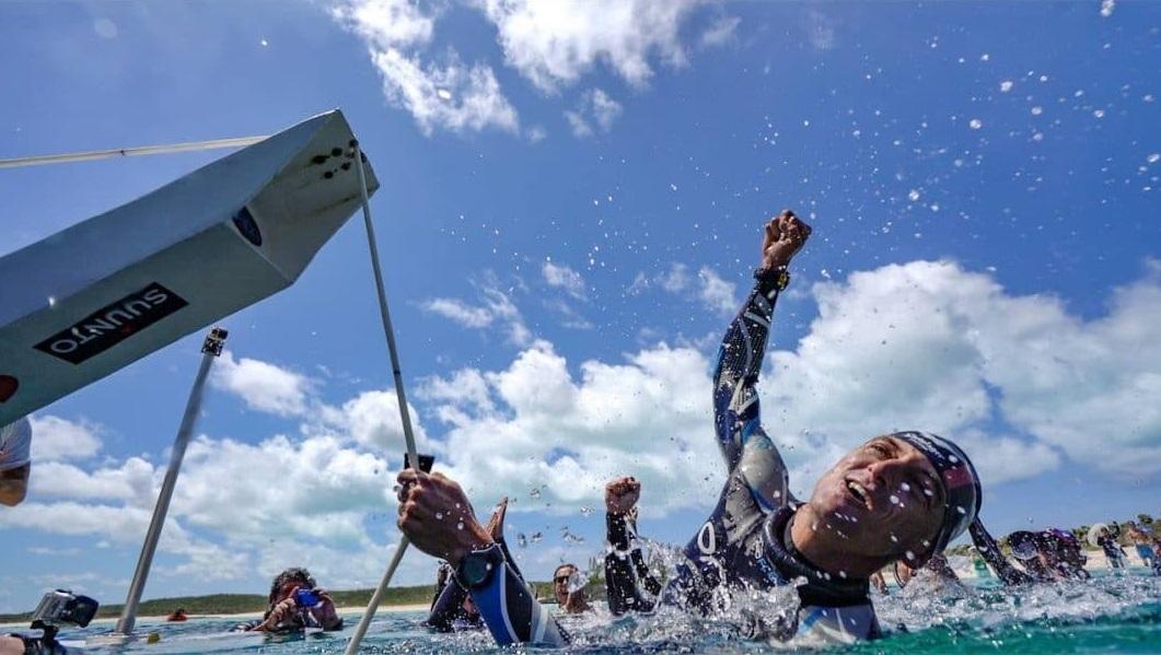 Trubridge_witte kaart _102 meter_no fins_freediving