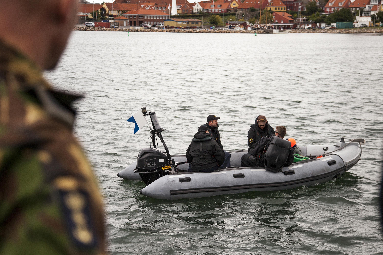 Een duiker maakt zich gereed.Foto: Ministerie van Defensie