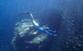 Minicompetitie Freediving op 11 oktober