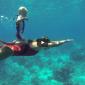 In beeld: De jongste freediver?