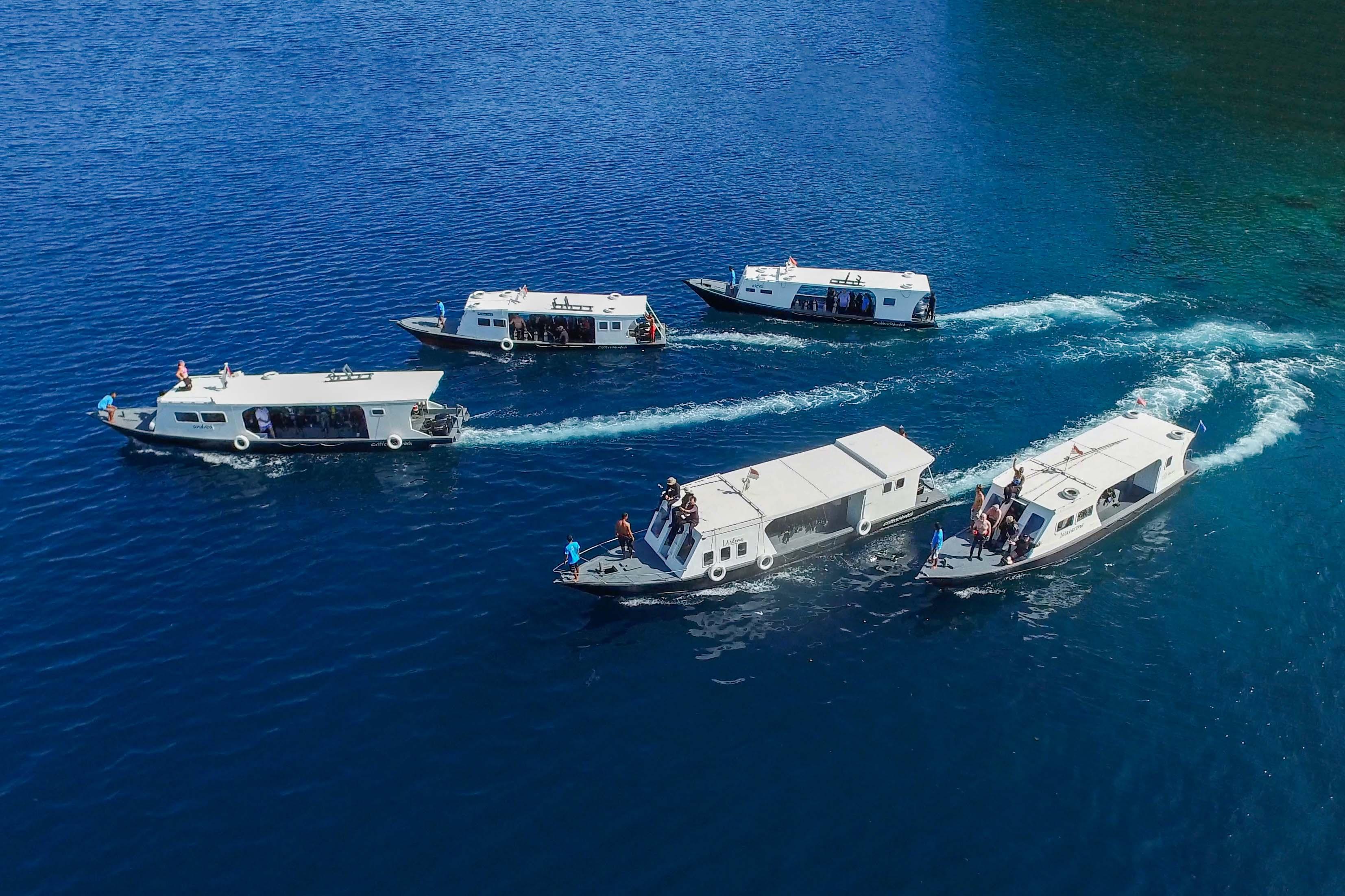 Murex & Lembeh Resort boten