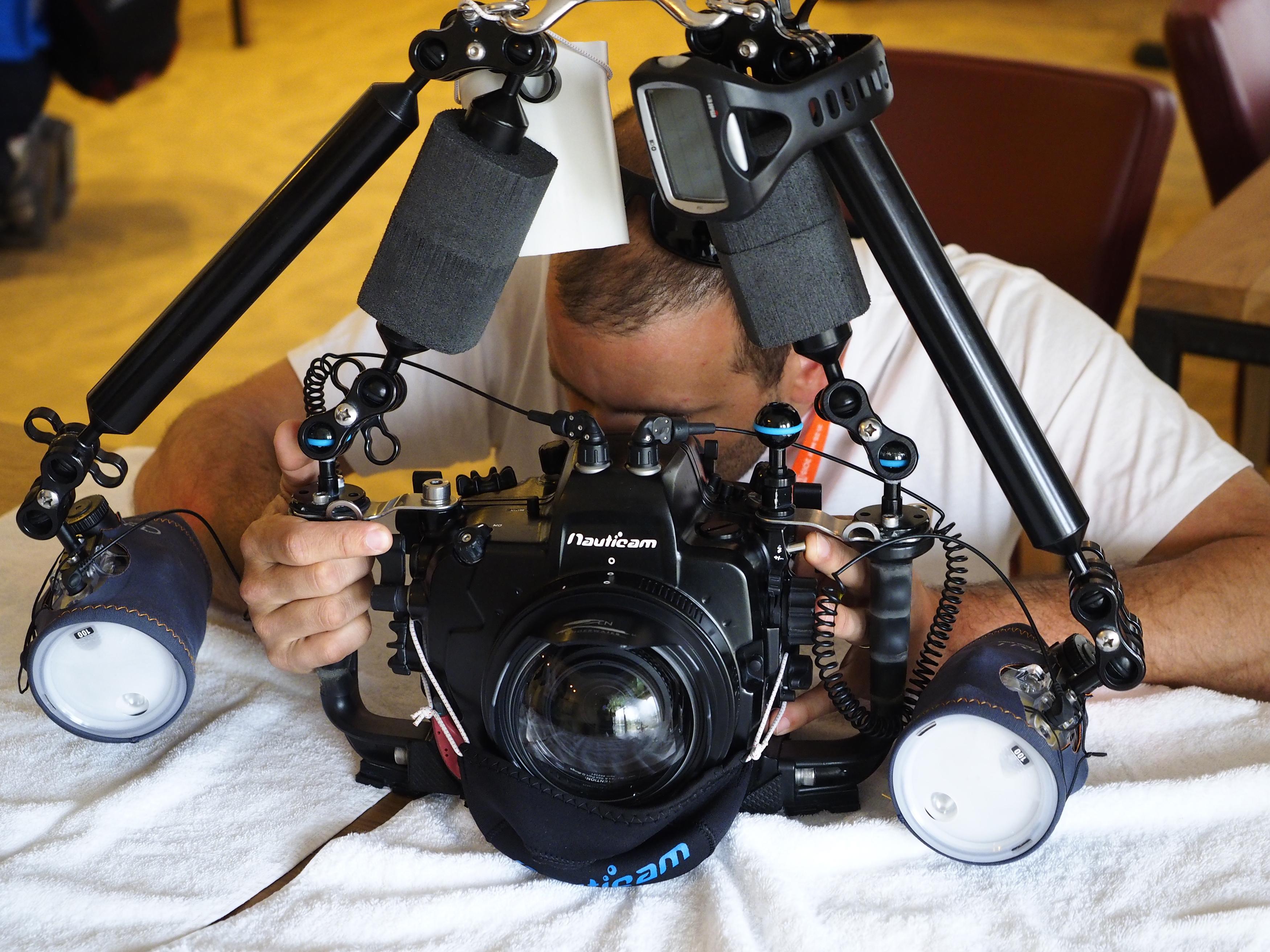 Fotograaf met camera