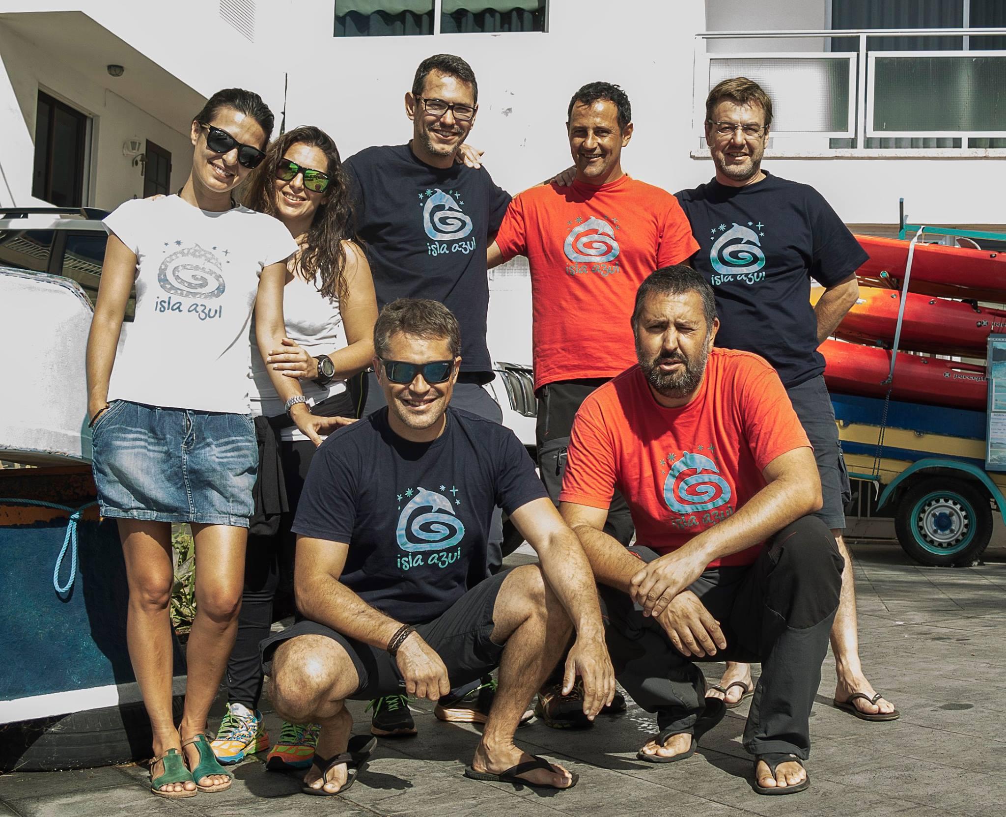 Isla-Azul-team