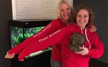 1100 duikminuten in Schotland en een rode trui