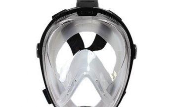Snorkeling mask test: DeepBlue Black