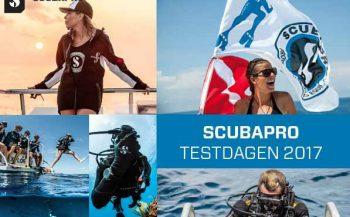 SCUBAPrO Testdagen bij Transfo duiktank