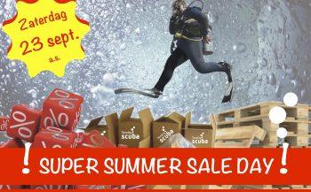 Totally Scuba Super Summer Sale Day