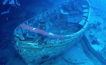 Etienne Van Wambeke - Een life boat minder bij de Salem Express