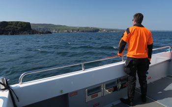 Bas Poelmann - Ghost Fishing verkenningsmissie in Ierland