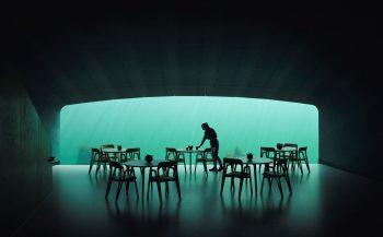 Eerste onderwaterrestaurant geopend