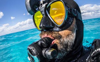 Een masker cadeau bij SCUBAPRO HUD duikcomputer!