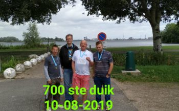 Ron van Werkhooven - De 700ste duik