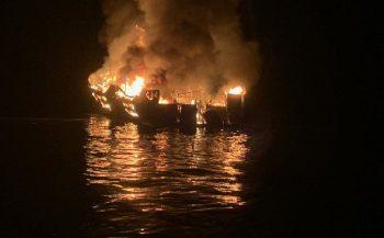 Felle brand aan boord van Amerikaans duikschip