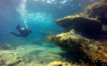 Hans van de Hee - Duiken bij Coral Bay (Cyprus)