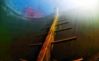 Het water in en uit via de trap - waar kan het?