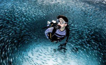 Doorlopende presentaties bij Aqua Lung