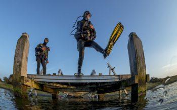 Protocol voor onderwatersport is aangepast