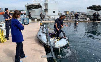 Defensieduikers bewaken veiligheid van Nederland onder water