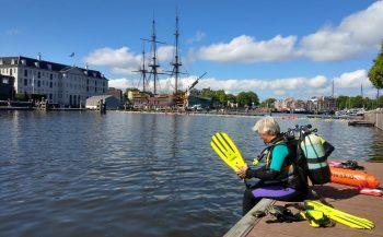 Meer leven in de Amsterdamse grachten door coronacrisis