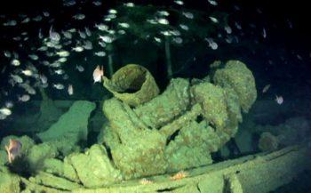500 lichamen aan boord van scheepswrak ontdekt
