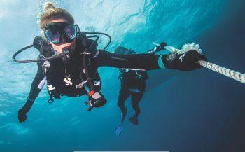 Test SCUBAPRO duikmaterialen in Vodelée