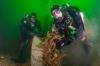 Expeditie Helgoland – duikers halen 3500 kg afval uit Noordzee