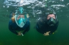 Test snorkelmaskers