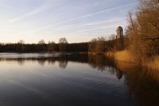 René Weterings – Duiklamptest in het koude zoetwater