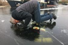Rob Idema – IJsduik bij Airdiving in Vinkeveen