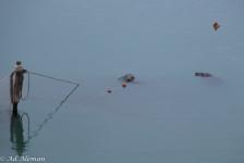 Ad Aleman – Gevaarlijke spelletjes bij de doorlaat in de Brouwersdam