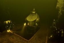 Jaap Jonk – Onderwater met een duikboot in Vinkeveen