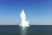Defensie ruimt zware zeemijn voor Zeeuwse kust