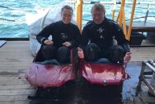 Expeditie Borkumse Stenen 2019 – «Ben, wil je met me duiken?»