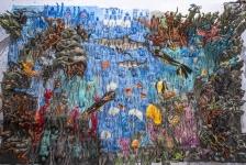 Wereldrecord bodypainting – Een 'schilderij' van de oceaan