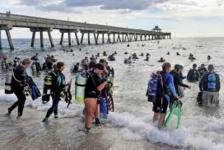 Guinness-record: 633 duikers maken zeebodem schoon