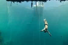 Freediving in spotlight tijdens International Ocean Film Tour