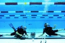 Robots brengen Olympische zwemmers in beeld