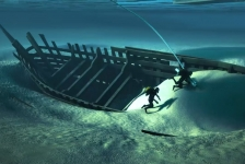 Middeleeuws scheepswrak in Kampen wordt geborgen