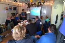 Axel Gunderson – Project Baseline op bezoek bij Duik Team Leeuwarden