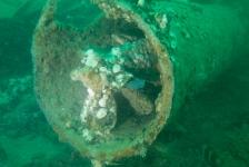 Axel Gunderson – Duiken in de groene kelder naar twee onderzeeërs