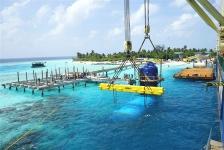 's Werelds grootste onderwaterrestaurant geplaatst door Nederlands bedrijf