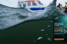 Bas Brand – KNRM-reddingsactie van duikers – oefening op zee